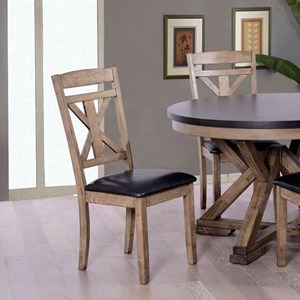 Elements International Laramie Side Chair