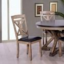 Elements International Laramie Side Chair - Item Number: DLM100SC