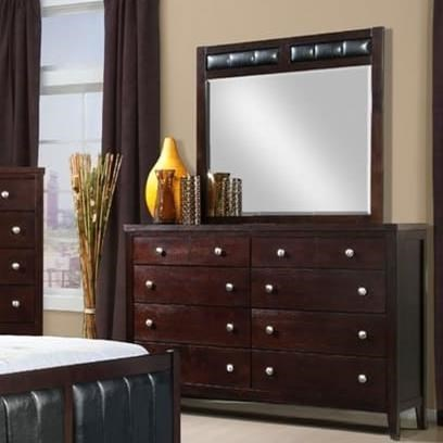 Elements International Lawrence Mirror - Item Number: LW100MR