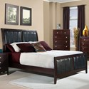 Elements International Lawrence Queen Bed - Item Number: LW100QB