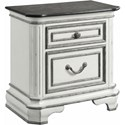 Elements Leighton Manor Nightstand - Item Number: LH700NS