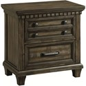 Elements International McCabe Nightstand - Item Number: MB600NS