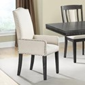 Elements International Morrison Upholstered Arm Chair - Item Number: DMO100FAC