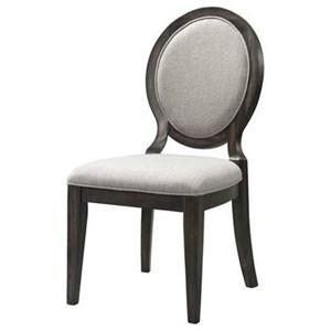 Elements International Morrison Upholstered Side Chair
