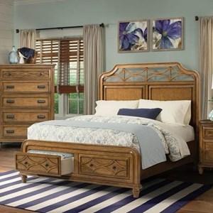 Elements International Mystic Bay Queen Bed