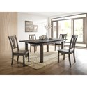 Elements Nathan 5-Piece Dining Set - Item Number: DNH100CW5PC