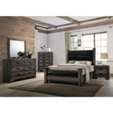 Elements International Nathan Queen Bedroom Group - Item Number: NH130 Q Bedroom Group 1