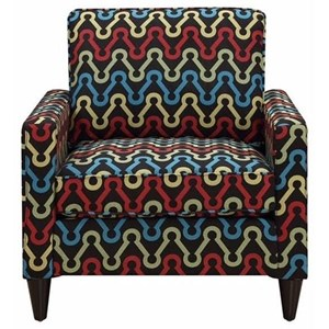 Elements International Noah Upholstered Chair