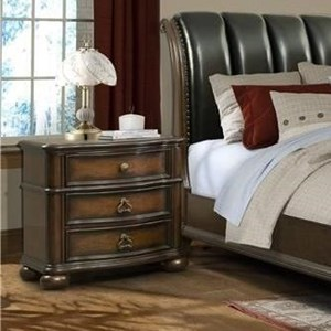 Elements International Palmer Nightstand
