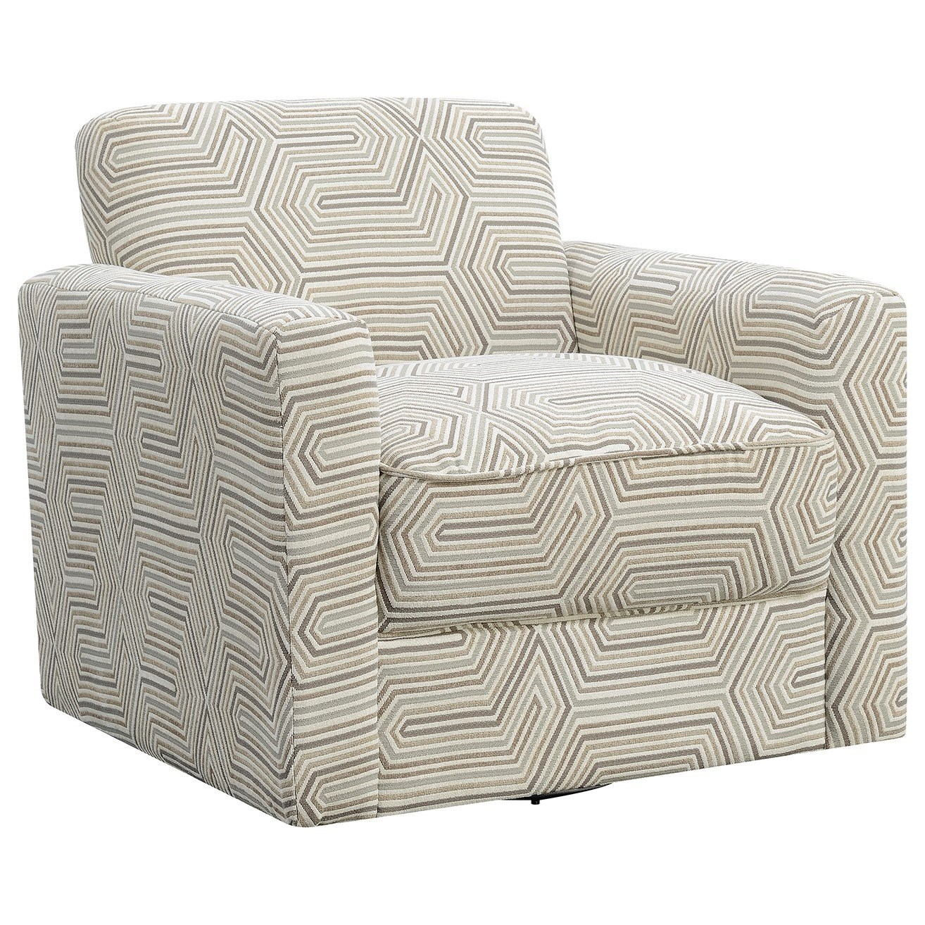 Incroyable Elements International Paramount Upholstered Chair   Item Number:  UPTxx100SW AvirlAngled