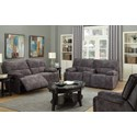 Elements International Paris Power Reclining Living Room Group - Item Number: UPSxx Living Room Group 1