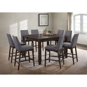 Elements International Piper Table and Chair Set