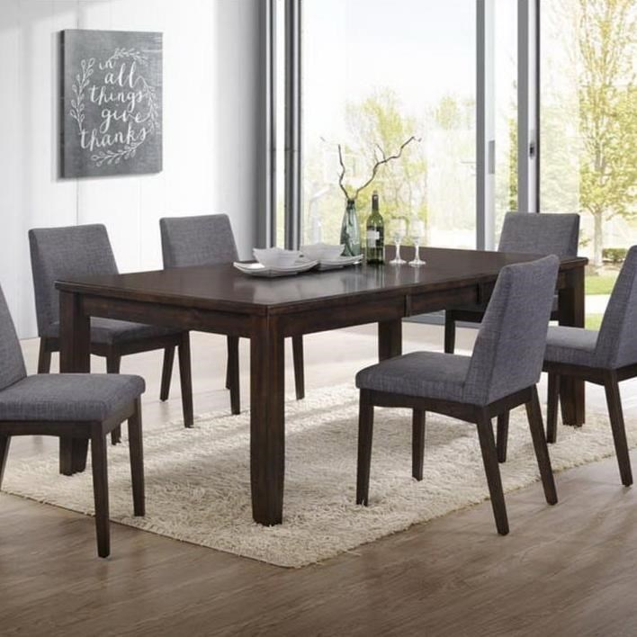 Piper Modern Dining Table With Leaf By Elements International