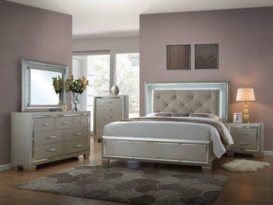 King Bedroom Group w/Mood Lighting