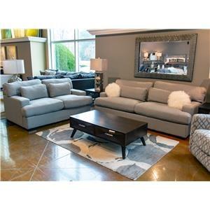 Elements International Rodeo Modern Sofa & Loveseat