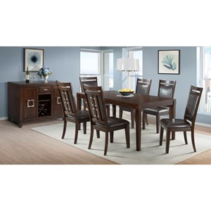 Elements International Rodney Casual Dining Room Group