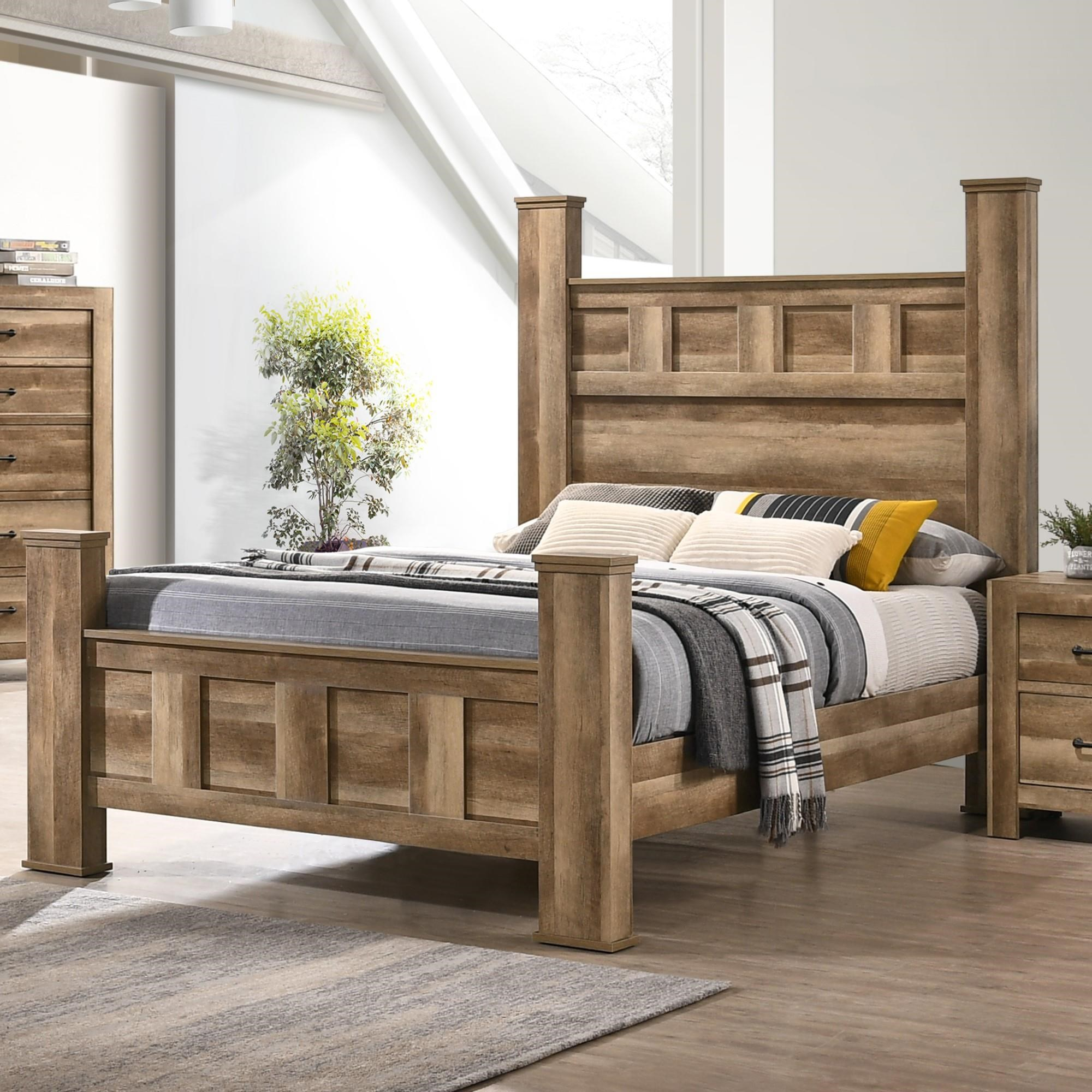 Elements Salerno Queen Post Bed Royal Furniture Poster Beds