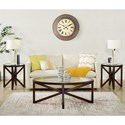 Elements Sandie 3PC Occasional Table Set - Item Number: CSD100OTE