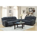 Elements Santorini Reclining Living Room Group - Item Number: UST1393052P