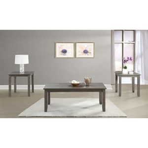 Elements International Sawyer Occasional Table Group