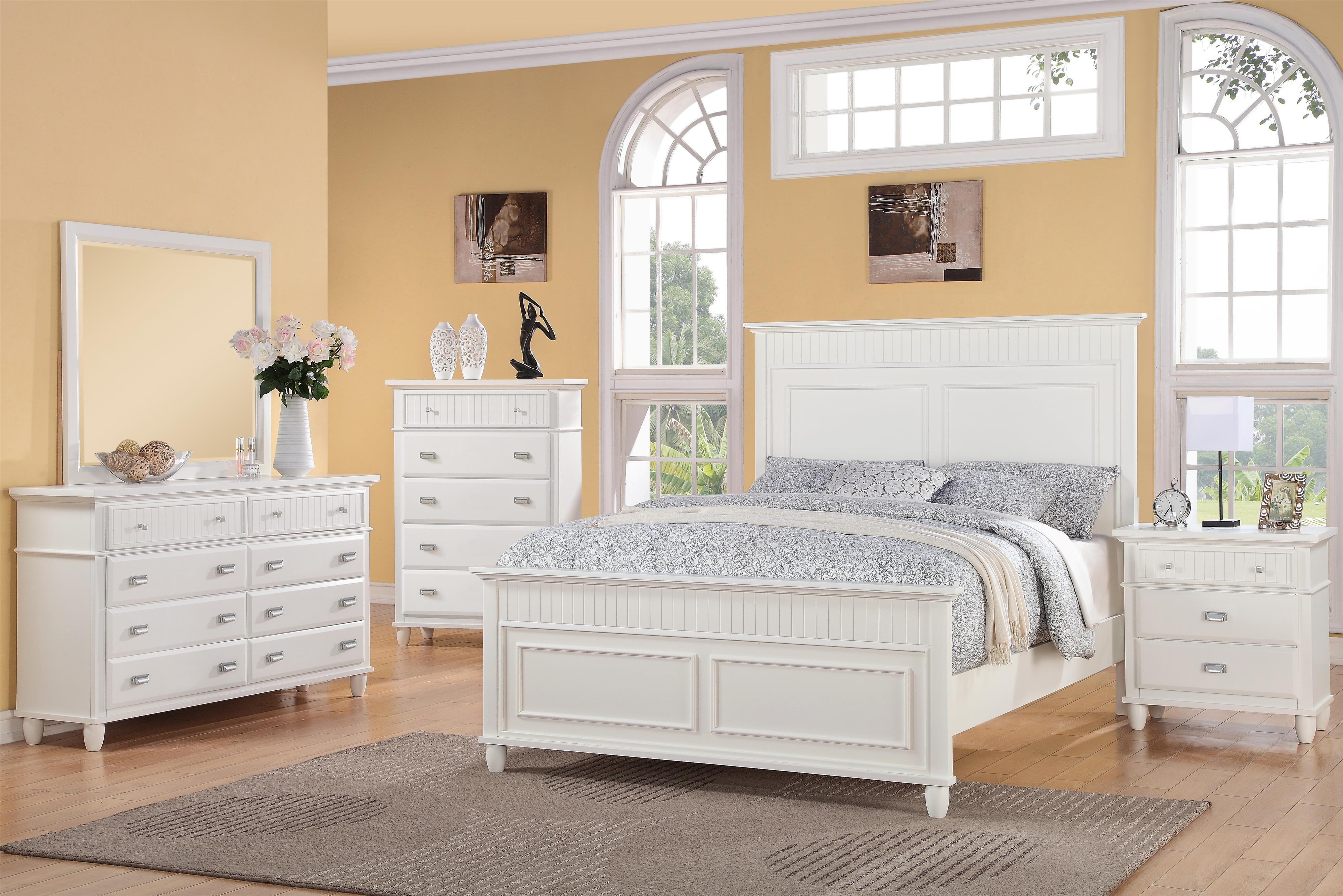 Elements International Spencer Queen Bedroom Group | Household ...
