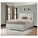 Elements International Spencer King Storage Bed - Item Number: SP750KB