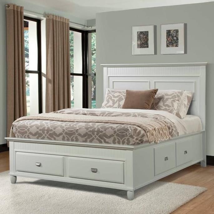 Elements International Spencer Twin Storage Bed - Item Number: SP750TB