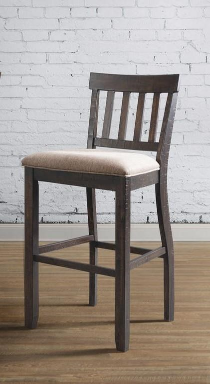 "30"" Slat Back Bar Stool Set"
