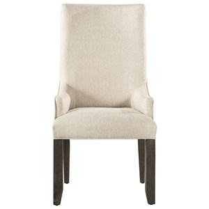 Elements International Stone Parson Arm Chair