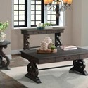 Elements International Stone Sofa Table - Item Number: TST100RST