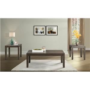 Elements International Anderson 3 Pack Occasional Tables