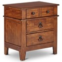 Elements International Tucson Nightstand - Item Number: TS555NS