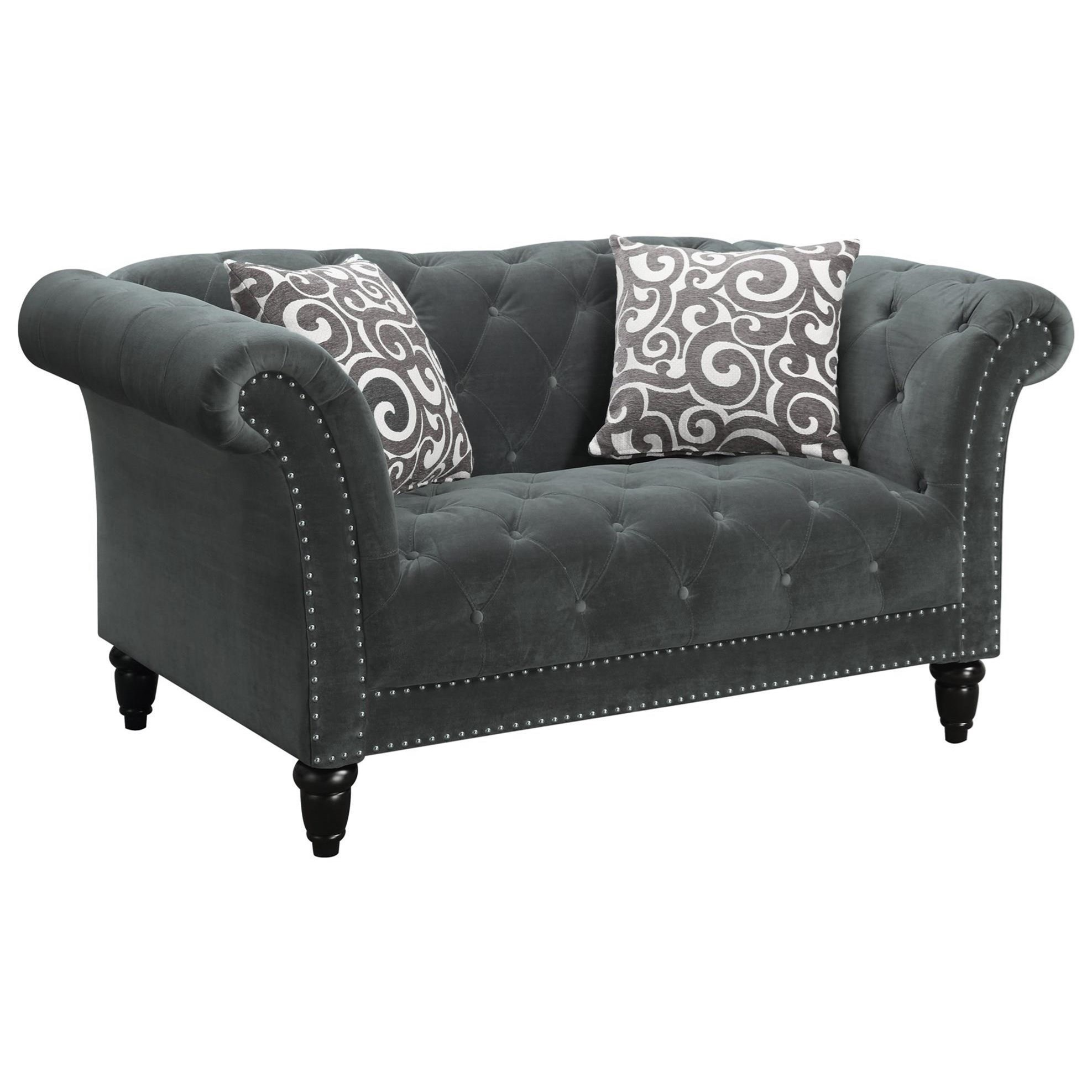 Twain Loveseat by Elements International at Beck's Furniture