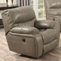 Elements International Vino Casual Recliner - Item Number: UVI781105-GRAY