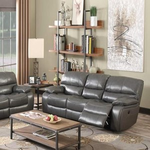 Elements International Vino Power Motion Sofa