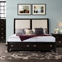Elements International Westbury King Bed Set - Item Number: WB610KBN