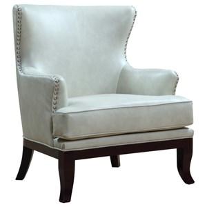 Elements International William Wing Chair