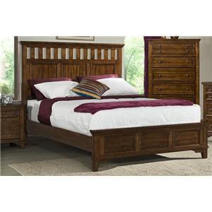 Elements International WOODLANDS Rustic King Bed