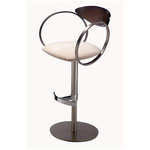 Elite Modern Eclipse  Swivel Bar Stool