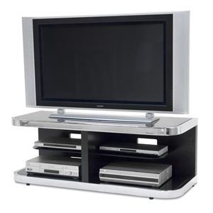 Elite Modern ES7573 Contemporary Metal & Glass TV Unit