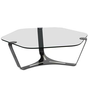 Elite Modern Triband Cocktail Table