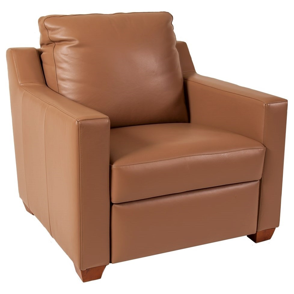 Elite Leather 7000 Power Motion Recliner - Item Number: 7305-RM-1 PKG