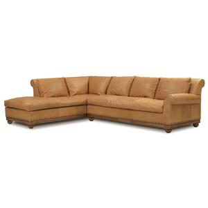 Elite Leather Echo Park Sectional Sofa