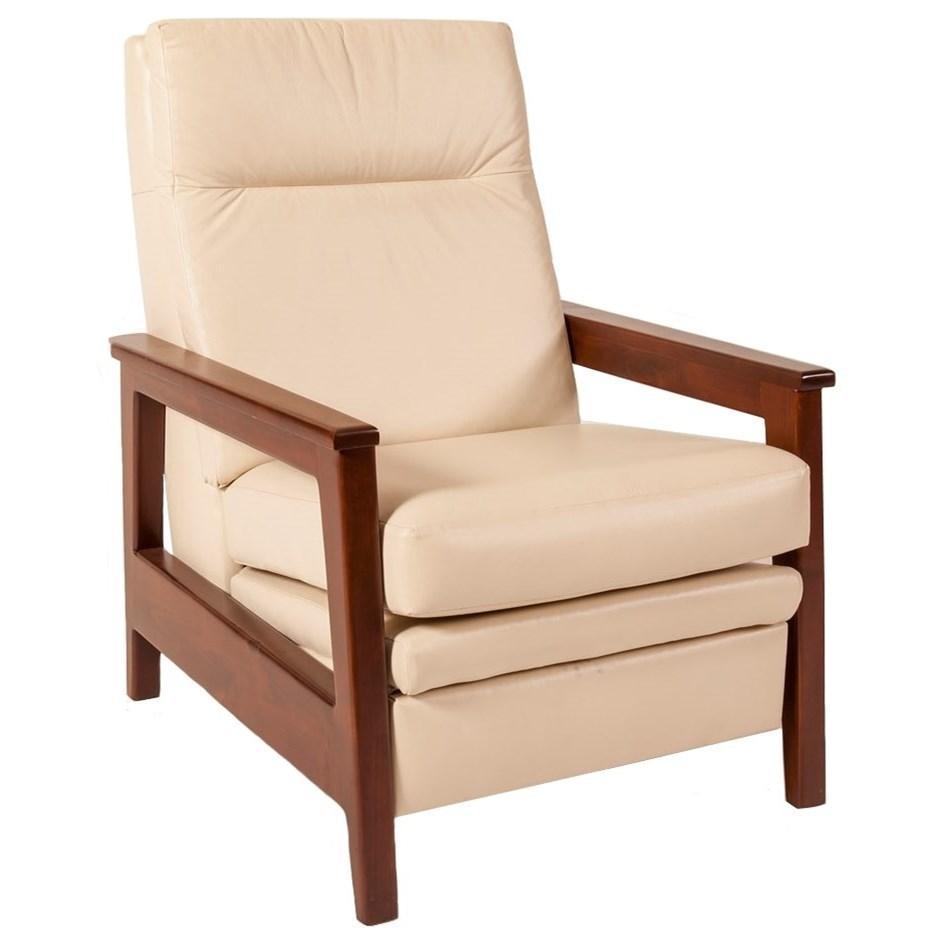 Elite Leather Dane Recliner - Item Number: 7117R-1