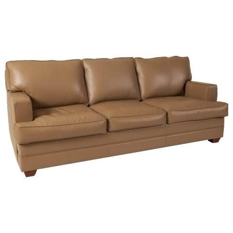 Elite Leather Imprint Sofa - Item Number: 29501-72DF-246
