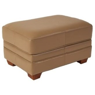 Imprint Ottoman by Elite Leather at C. S. Wo & Sons Hawaii