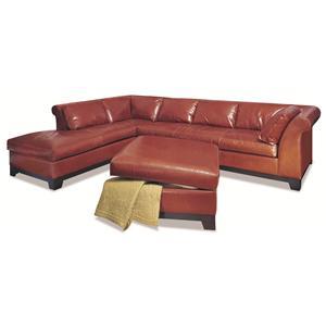Elite Leather Glen Cove 2 Piece Sectional Sofa
