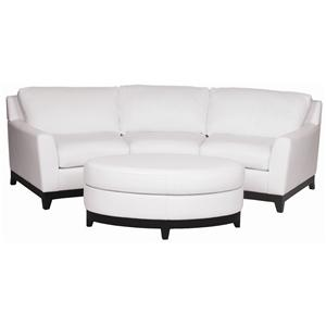 Superbe Elite Leather Monaco Leather Sofa