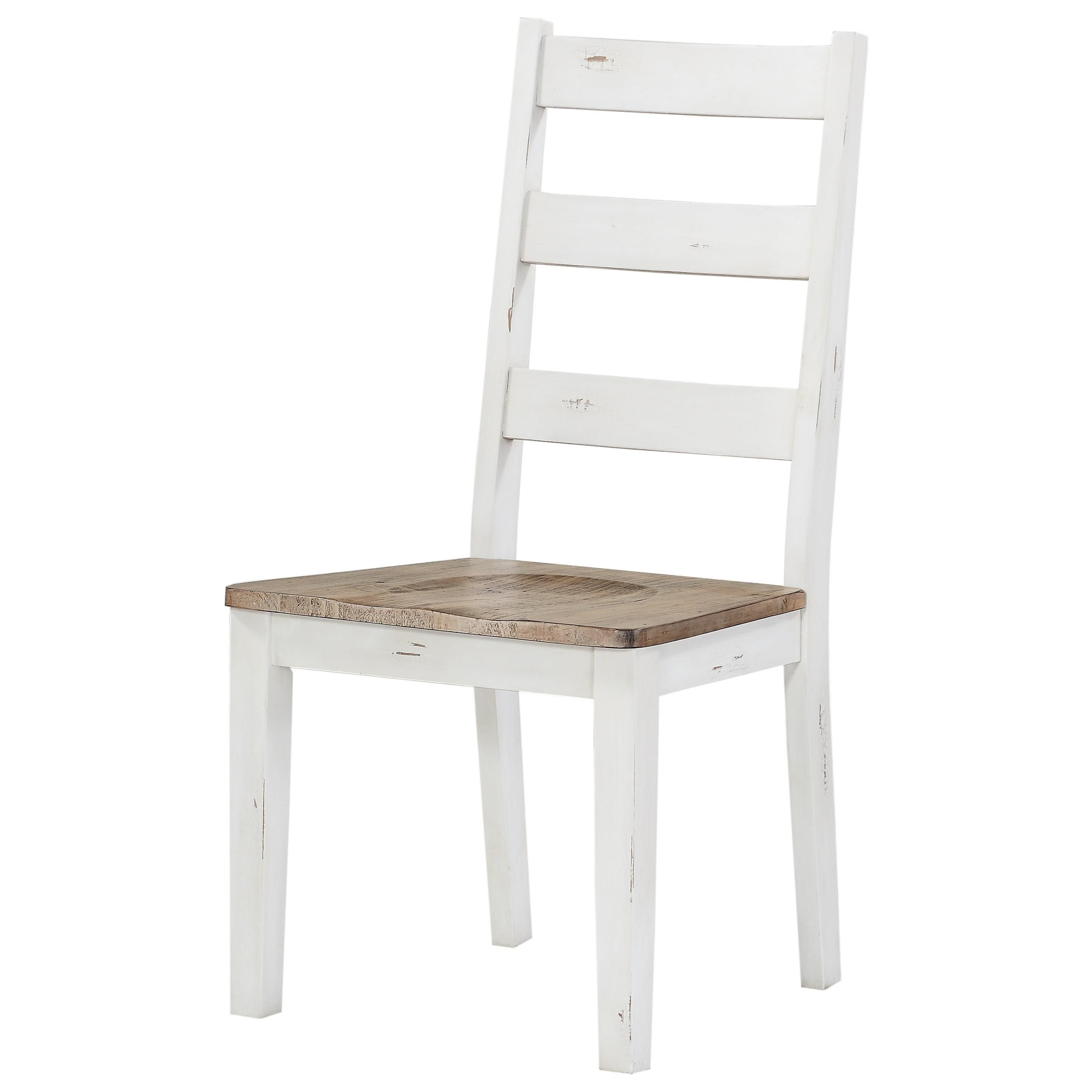 Abaco Ladderback Side Chair by Emerald at Northeast Factory Direct