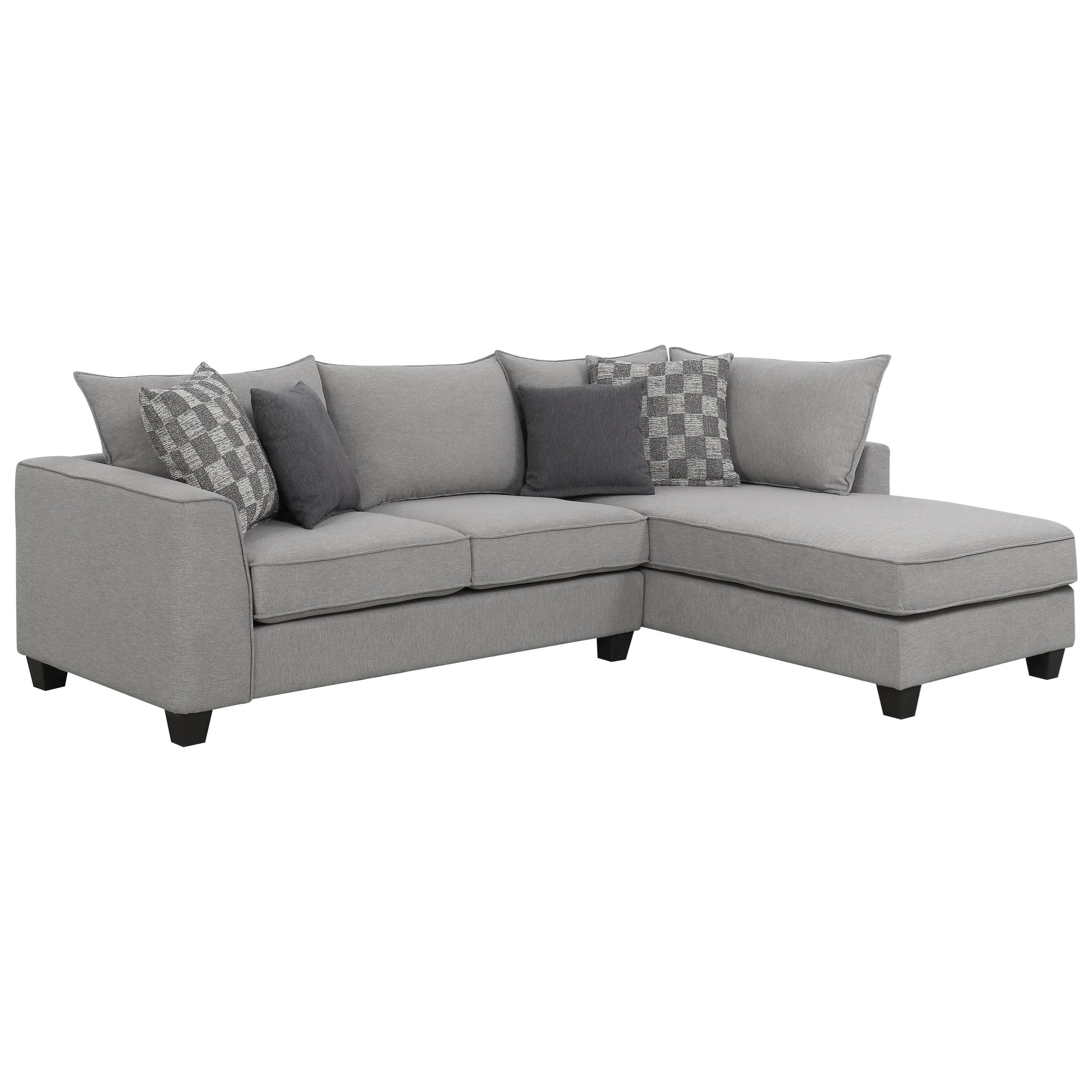 Alder Sectional Sofa with Chaise by Emerald at Suburban Furniture